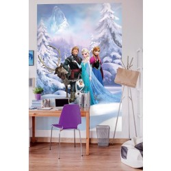 disney frozen Winter Land fototapet