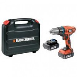 14.4V Black and Decker slagboremaskine-31