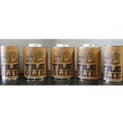 Træ olie 5,0L Hvidpigmenteret