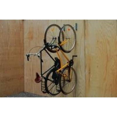 Cykelholder lodret
