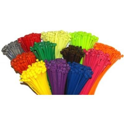 farvet kabelbindere