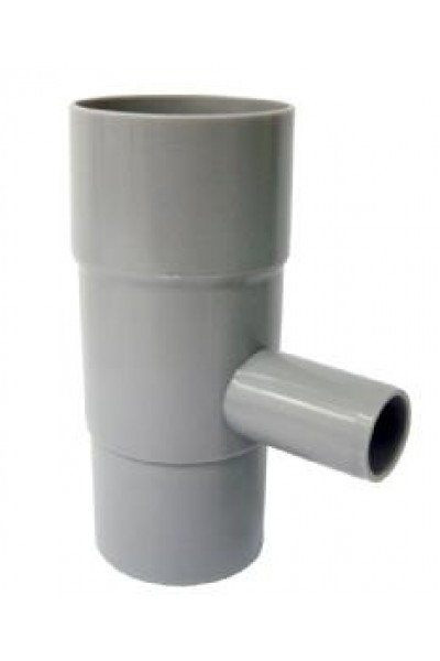 Nedløbsventil til regnvandsbeholder