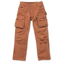 Carhartt Duck multi pocket tech pants Brun-20