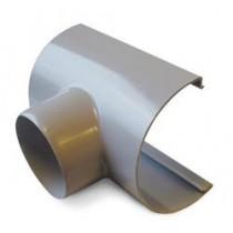 Plastmo tudstykke 75 mm grå-20
