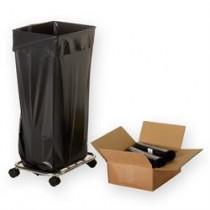 Sorte affaldssække 70x110 cm-20
