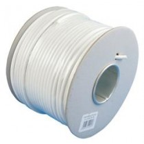 Antenneledning 7 mm hvid 100 meter-20