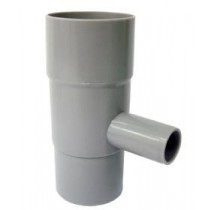 Nedløbsventil Ø75 mm-20