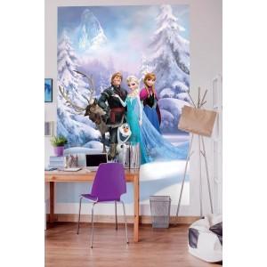disney frozen Winter Land fototapet