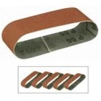 Ædelkorund slibebånd (aluminiumoxyd) korn 80-01