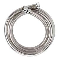 sølvfarvet bruseslange