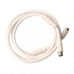 Antennekabel 1,5 M - hvid