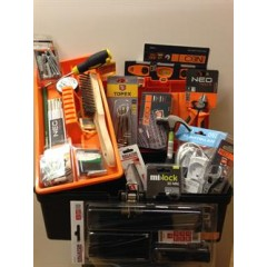 Flyttehjemmefra værktøjskasse