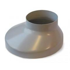 Plastmo Brøndkrave 75 mm grå