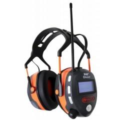 Høreværn med DAB+ og Bluetooth