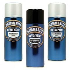 Metal maling - Hammerite Spraydåse