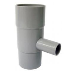 Nedløbsventil Ø75 mm