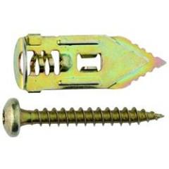 Gips plugs 4 stk incl. skrue