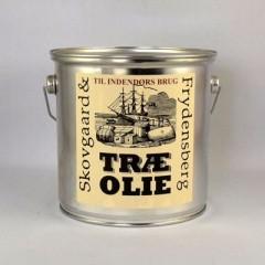 Træ Olie til indendørs brug 2,5 L.