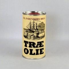 Træ Olie til indendørs brug 0,5 L. Natur